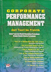 toko buku rahma: buku CORPORATE PERFORMANCE MANAGEMENT DARI TEORI KE PRAKTIK, pengarang veithzal rivai, penerbit ghalia indonesia