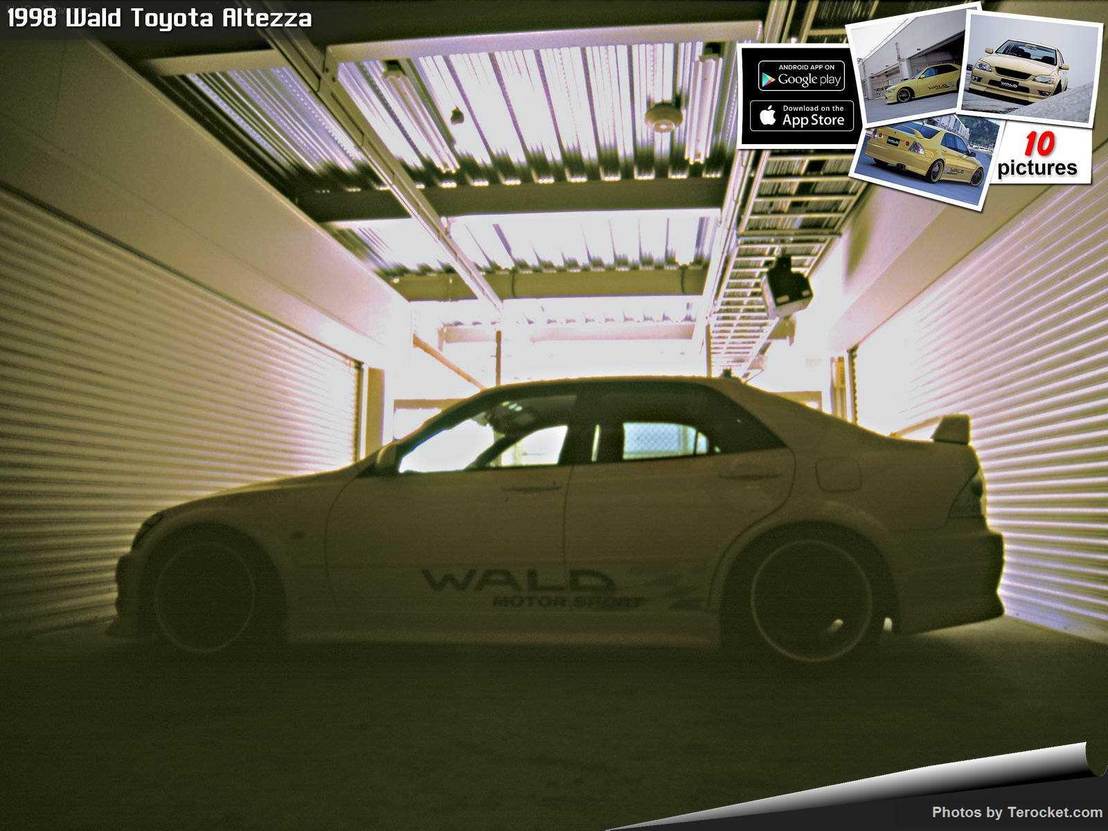 Hình ảnh xe độ Wald Toyota Altezza 1998 & nội ngoại thất