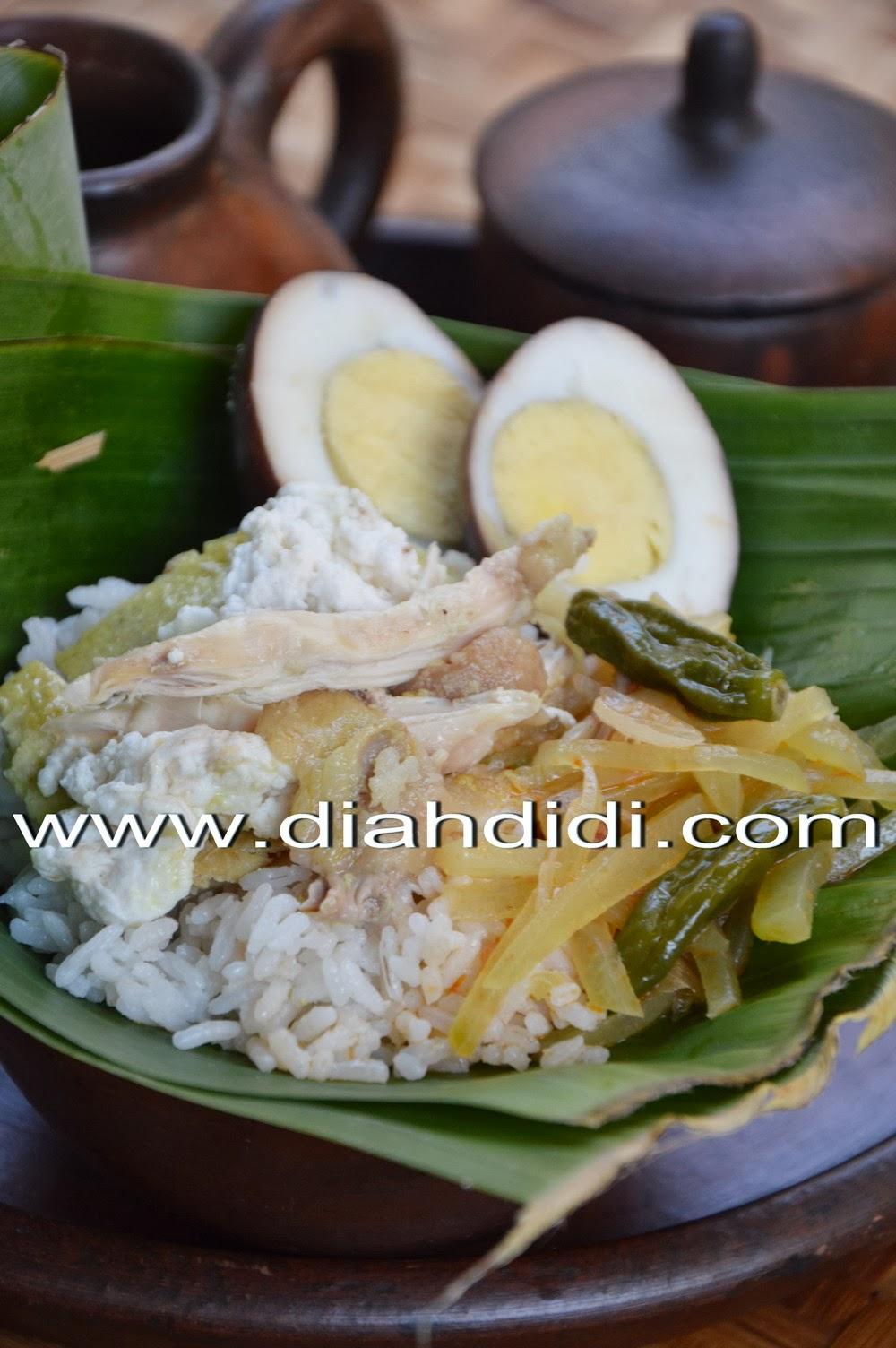 Resep nasi liwet, rasa nasi liwet yang khas, enak dan gurih. Diah Didi S Kitchen Resep Nasi Liwet Solo Komplit