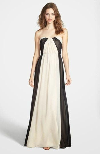 Monochrome Nordstrom Dress: Affordable Wedding Dresses - Paint it Black