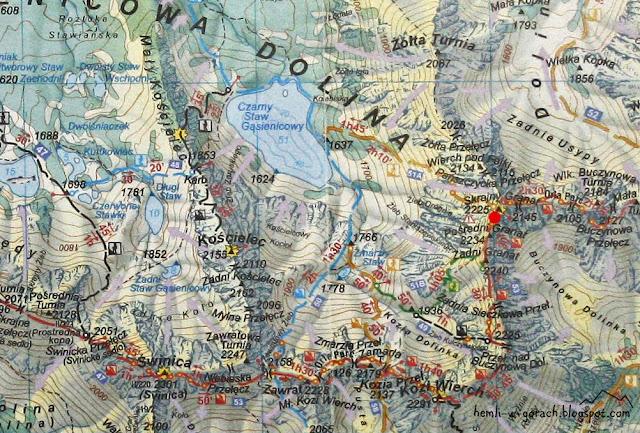 Skrajna Sieczkowa Przełączka na mapie
