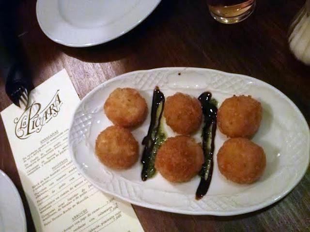 Croquetas líquidas de sabores_Taberna La Picara