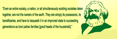 Karl Marx Ecology