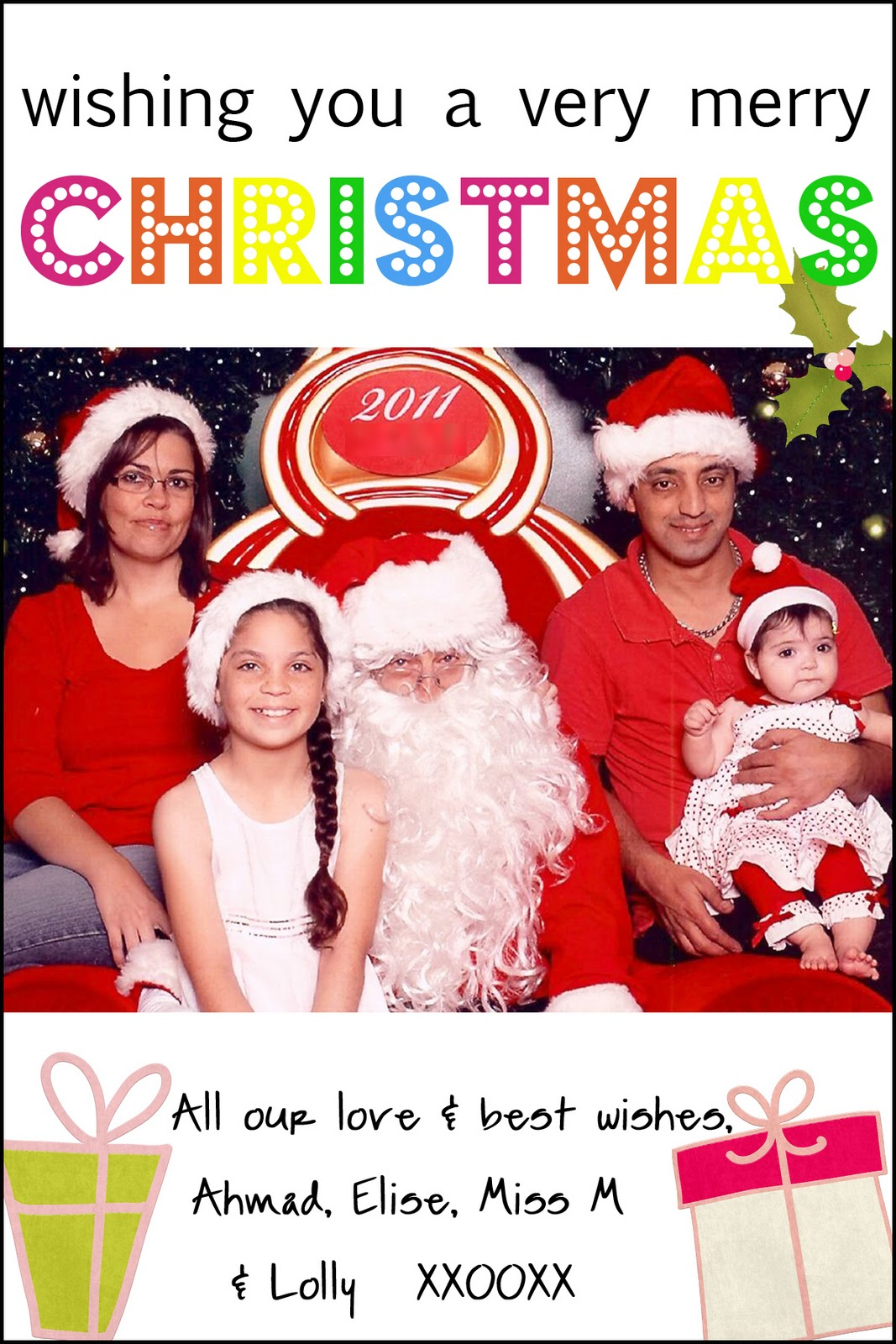 Mummy Hearts Money: Inexpensive Photo Christmas Cards.
