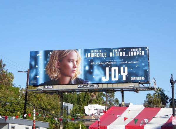 Joy movie billboard
