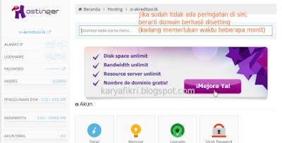 17 Cek dashboard hosting Anda di idhostinger (karyafikri.blogspot.com)