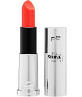 p2 Neuprodukte August 2015 - full shine lipstick 010 - www.annitschkasblog.de