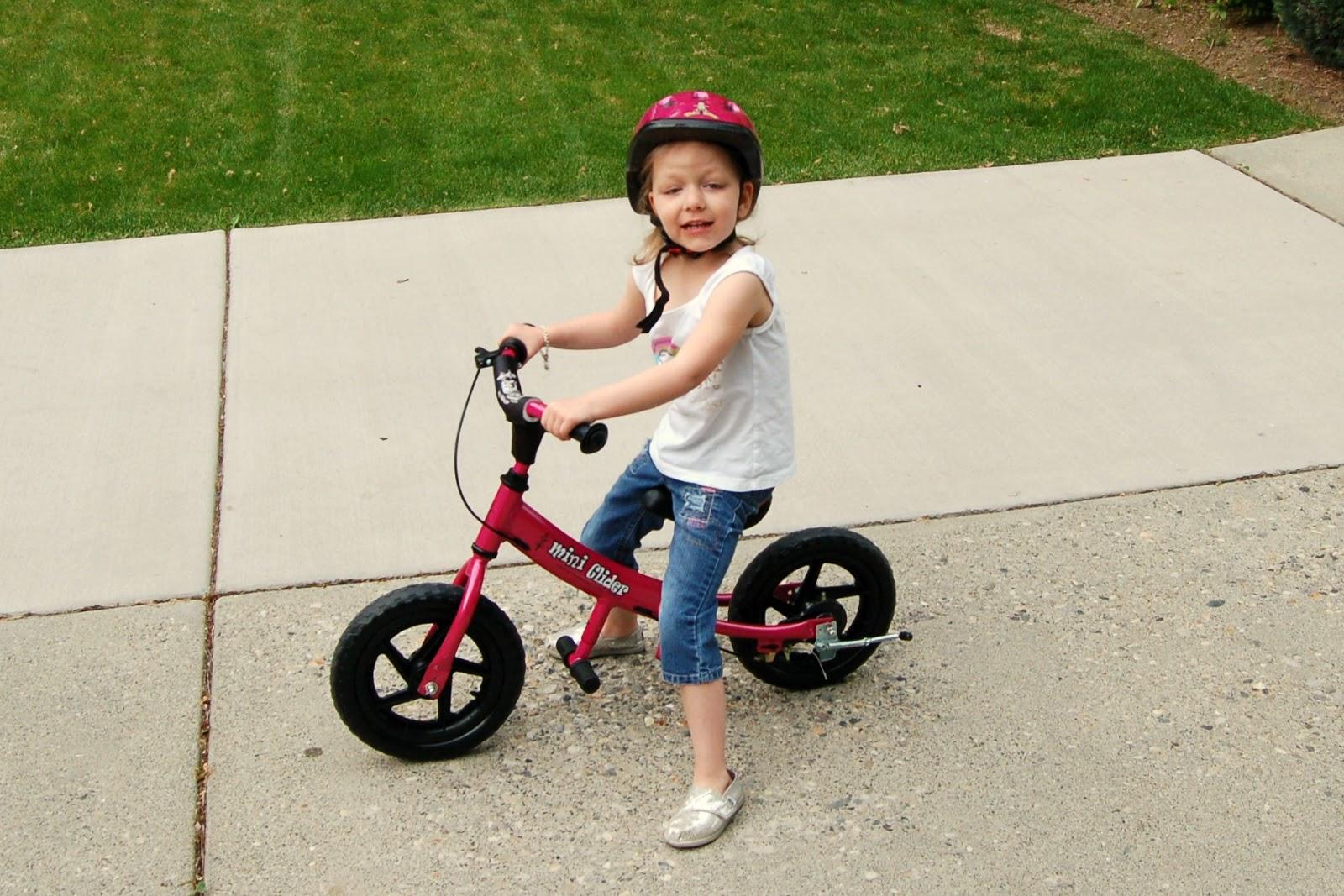 Cute Glide Balance Bike!