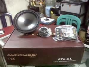 Harga Audio Mobil di Bandung Paket – Rp 4 juta      Speaker AT 6 EL     Power amplifier AL 4080 SE     Subwoofer Altitude A 12. 2P