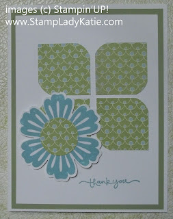 card made with Stampin'UP!'s Mixed Bunch Stamp Set and Blossom Punch. by Stamp Lady Katie