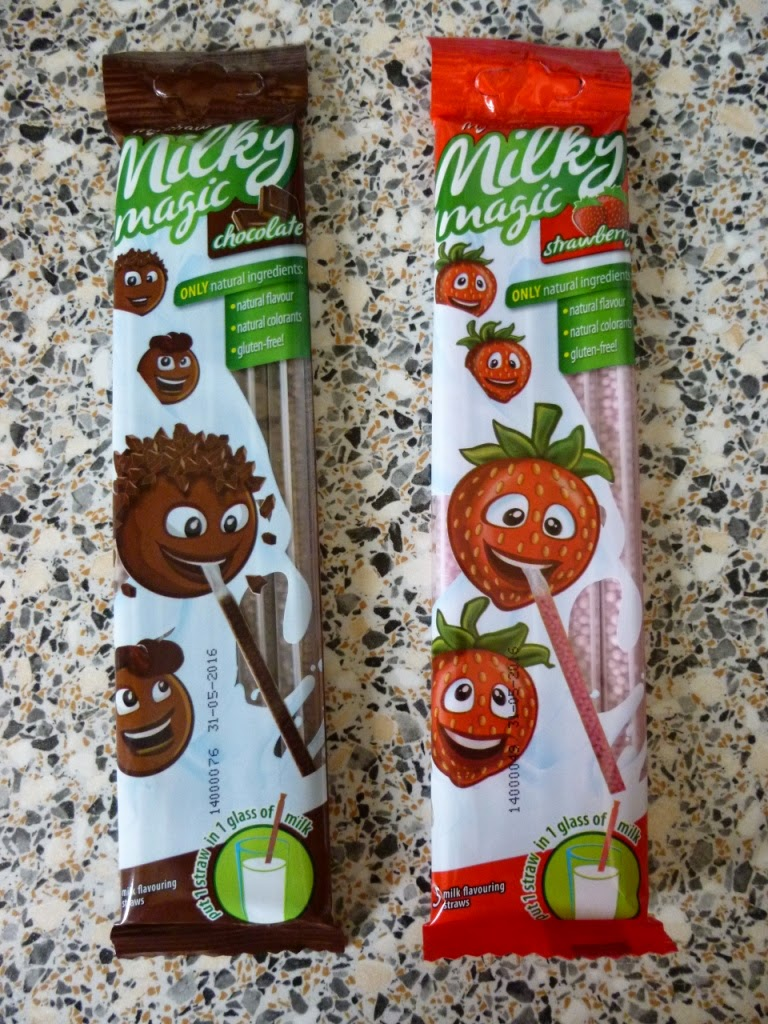 Gluten Free Milky Magic milkshake straws