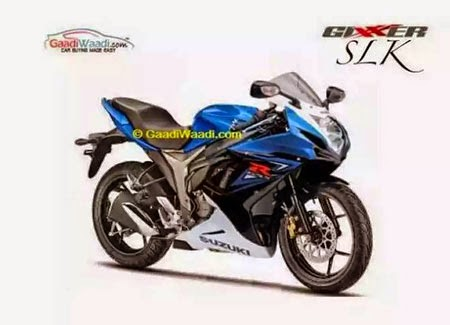 suzuki gixxer SLK terbaru 2015
