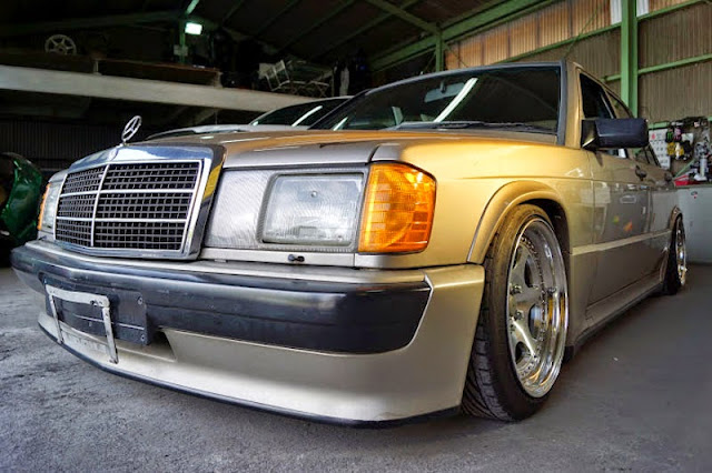 190e air suspension