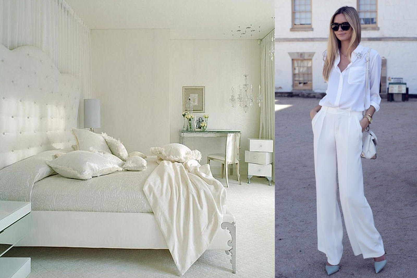 Heart of Gold and Luxury: Color Palette - White