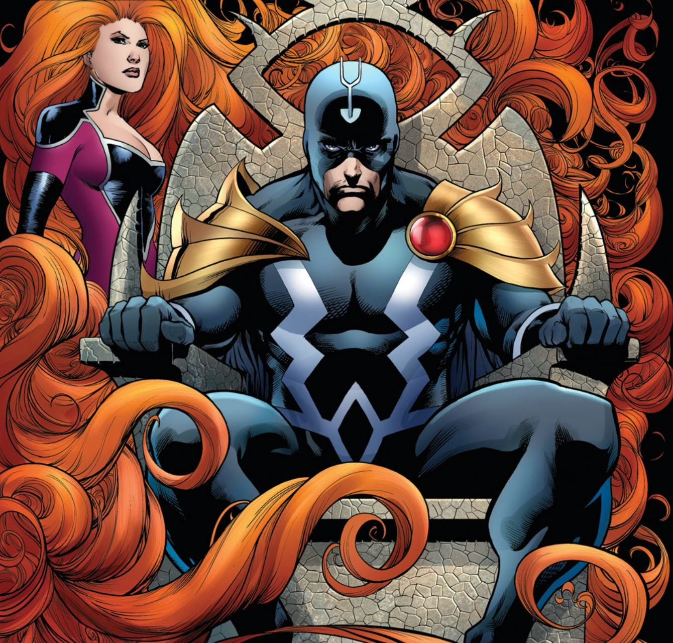 black bolt,medusa,inhumans