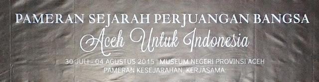 100 Tahun Museum Aceh Sebagai Momentum Objek Wisata Sejarah