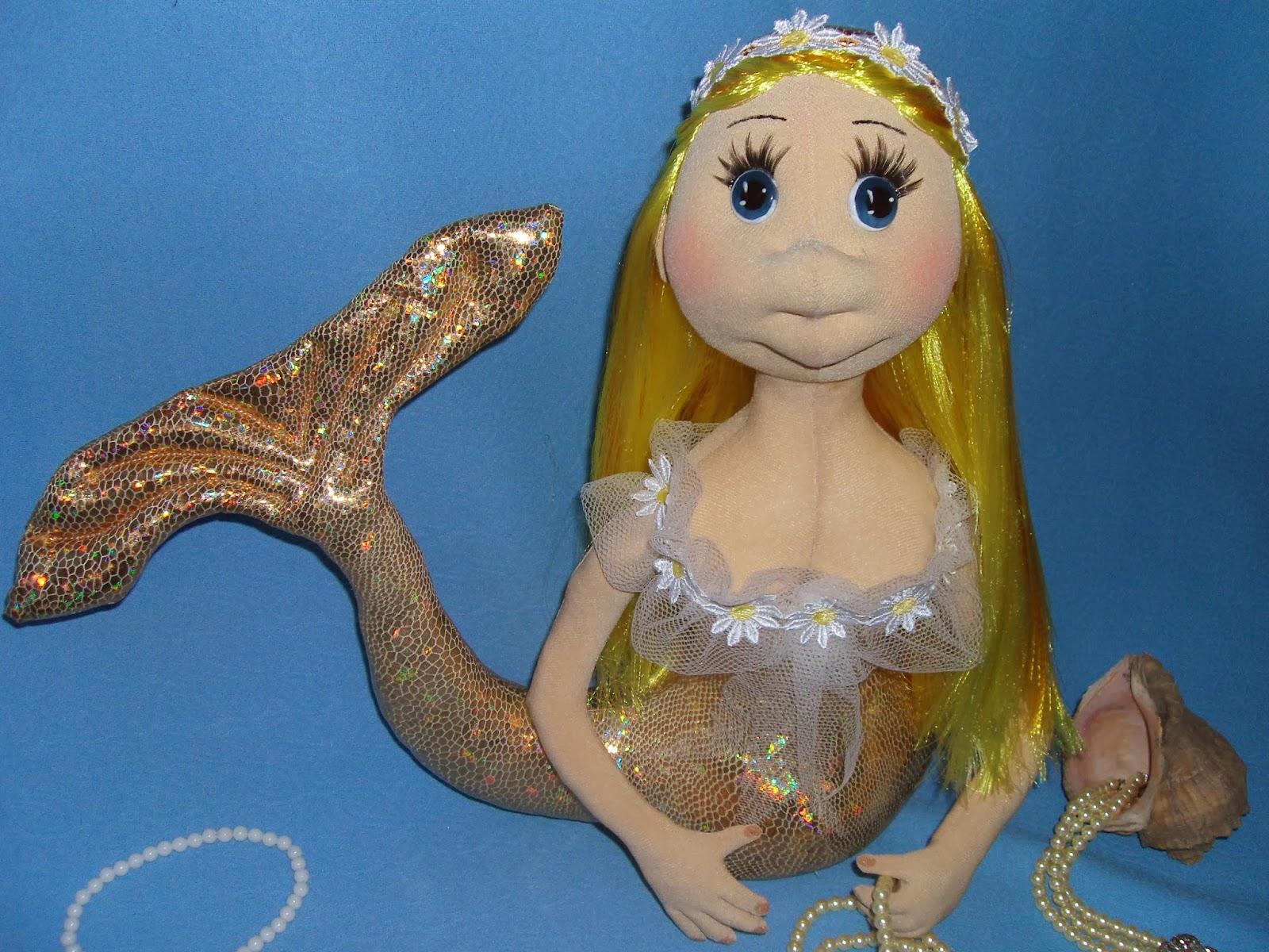 Как сделать из куклы русалку своими руками 55