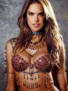Victori's Secret Fantasy Bra 2014 Fashion Show Alessandra Ambrosio