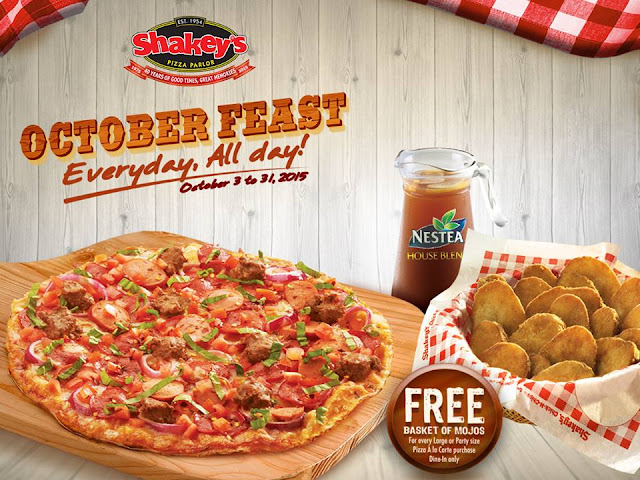 Celebrate Oktoberfest With Shakey's Philippines October Feast Treat