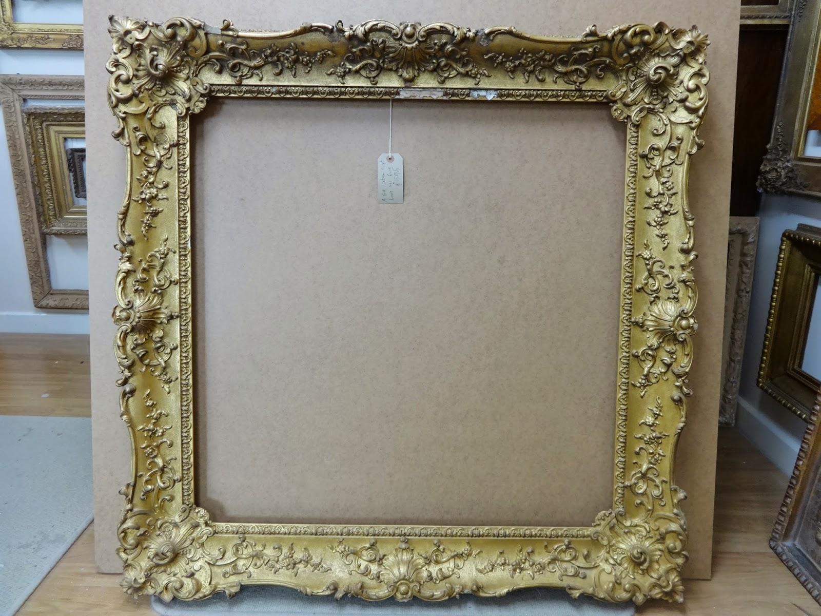 antique frame sale a victorian ornate swept louis xv frame