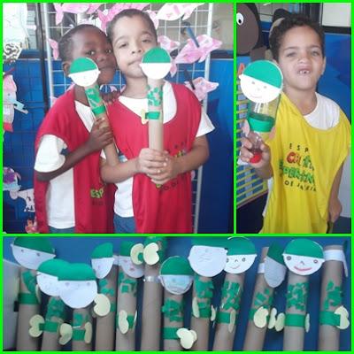 projeto de educação infantil para o dia do soldado