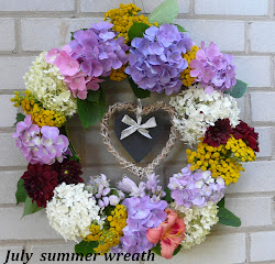Summer wreath - Kranz 2011