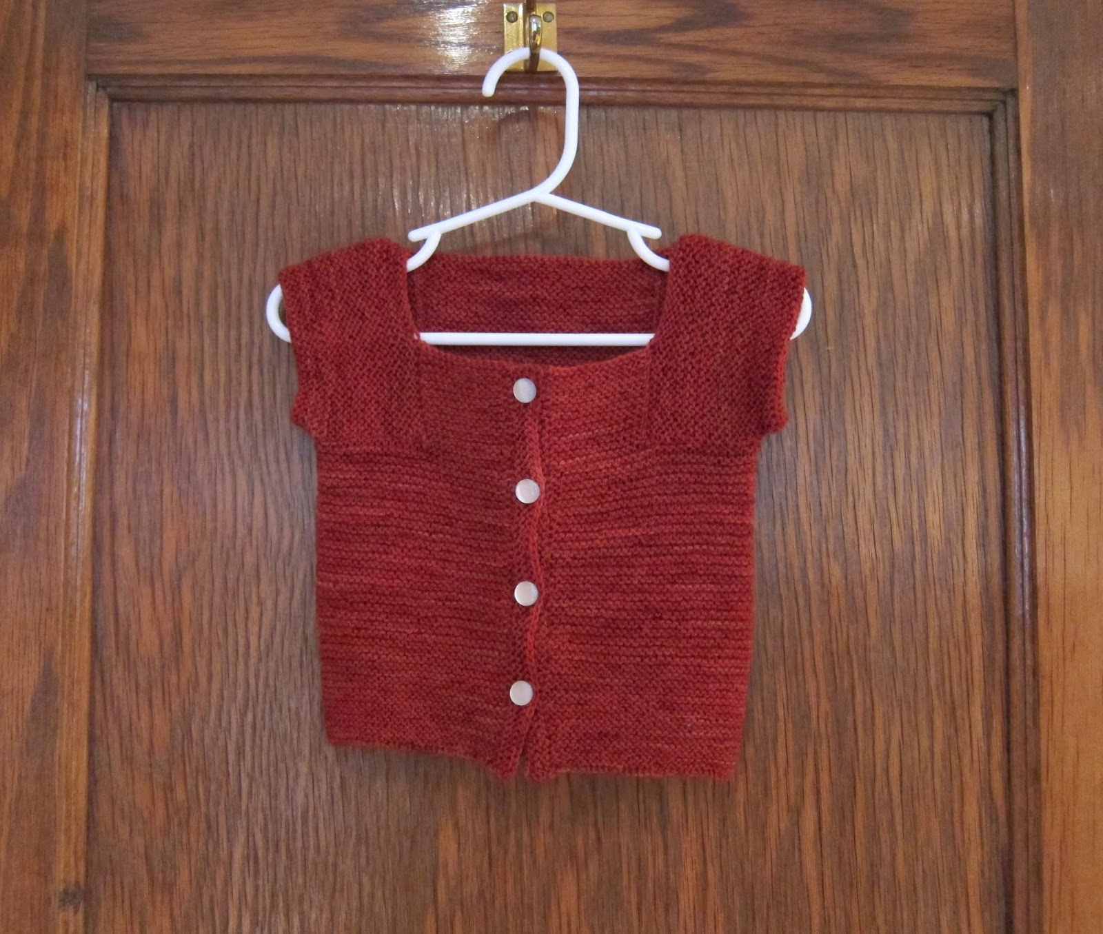 a caffeinated yarn: fo: purl bee little baby sweater