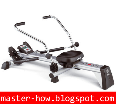 rowing machine what muscles
