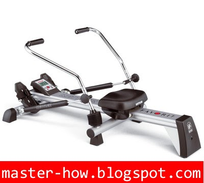 what does the rowing machine work
