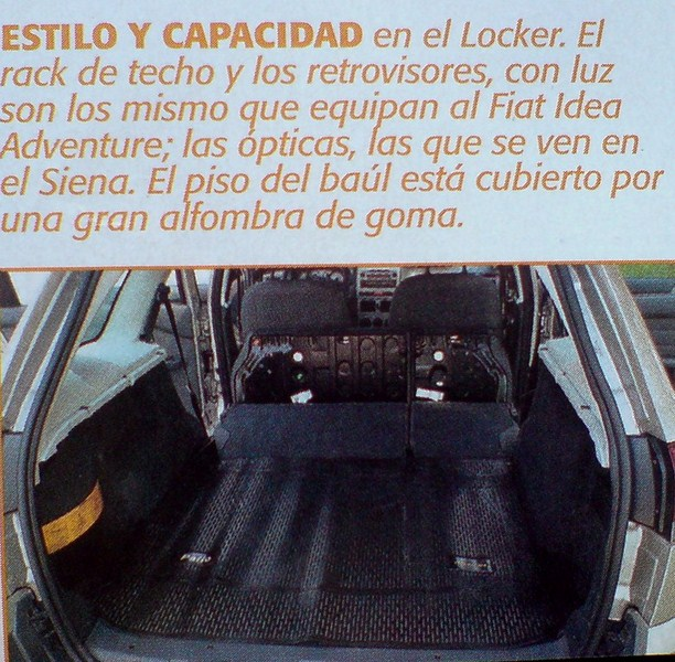 Prueba fiat adventure locker 1 8 testeados pruebas y for Dimensiones fiat idea