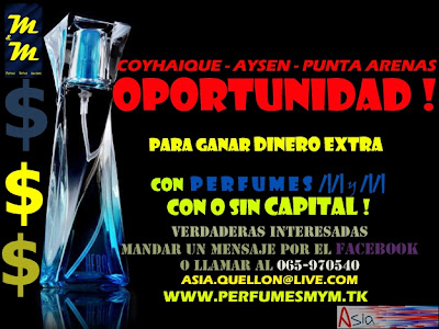 Oferta de trabajo para vender Perfumes