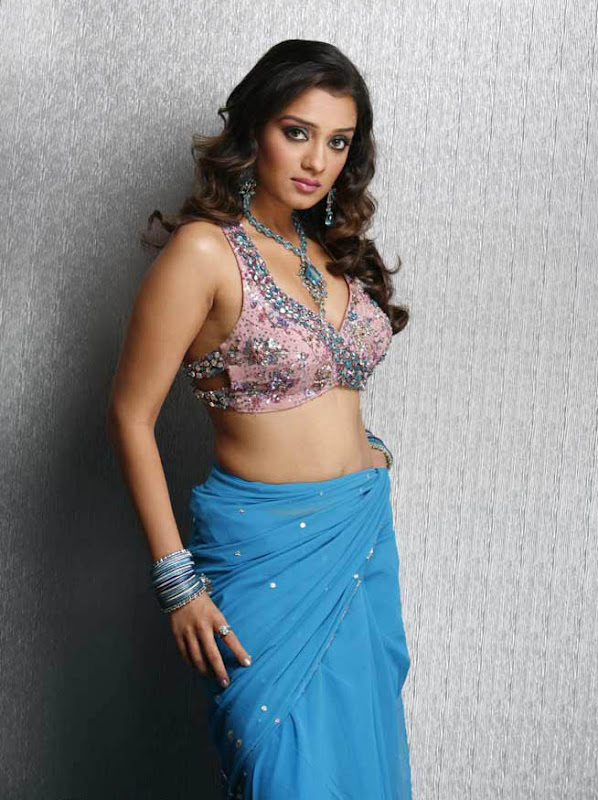 Actress Nikitha Hot Saree Below Navel Show Photos hot images
