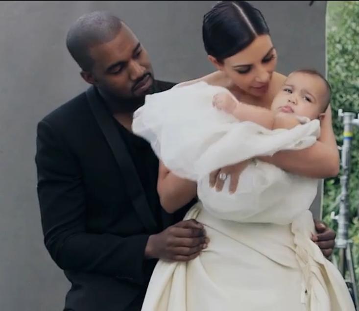 Kanye West, Kim Kardashian Baby North