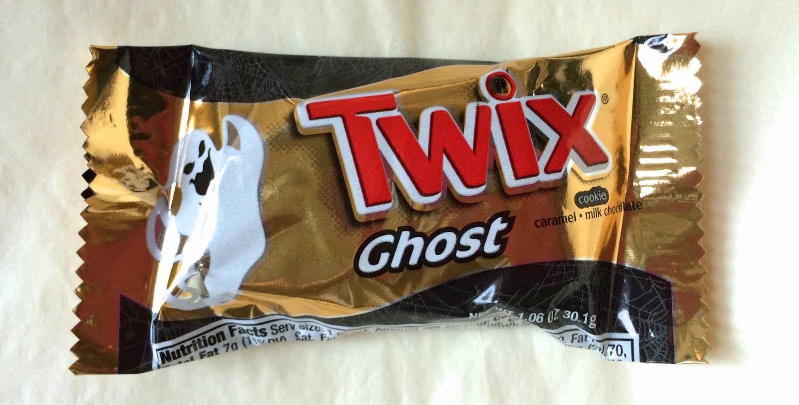 obsessive sweets special halloween guest blogger review ghost twix special halloween guest blogger review ghost twix