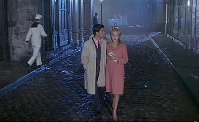 Catherine Deneuve and twenty yearold Guy Nino Castelnuovo are madly