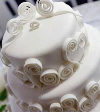 NON SOLO... MATRIMONIO: La torta nuziale, il tocco di classe finale...