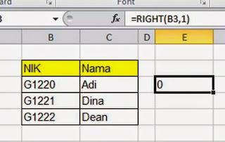data string atau karakter