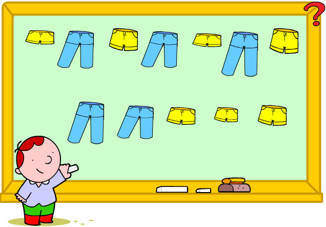1ºC aprende: Ancho, largo, corto, estrecho...