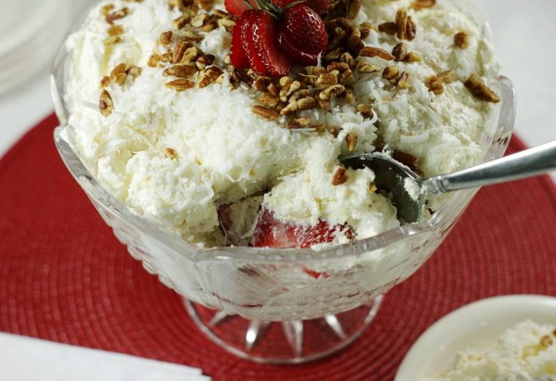 Southern Strawberry Punch Bowl Cake Recipe