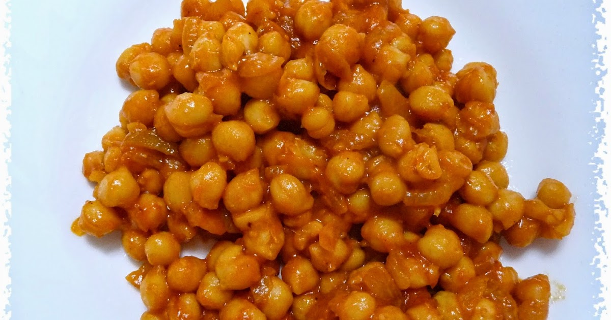 Recetas Light - Adelgazaconsusi: Garbanzos con tomate