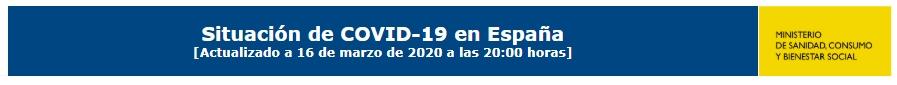 SIGUE LA SITUACIÓN DEL COVID-19 EN ESPAÑA