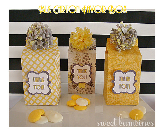 Bumble Bee Favour Boxes Zazzlecomau 324x324 Twins Baby Shower Favor Zazzle Vintage