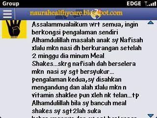 meal shake