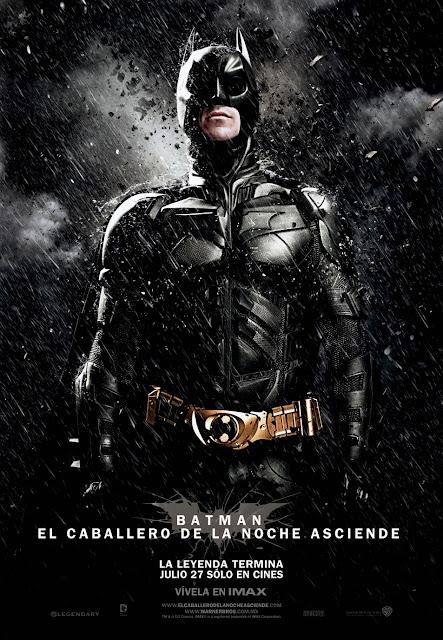 Batman: El Caballero de la Noche Asciende Latino TS Screener