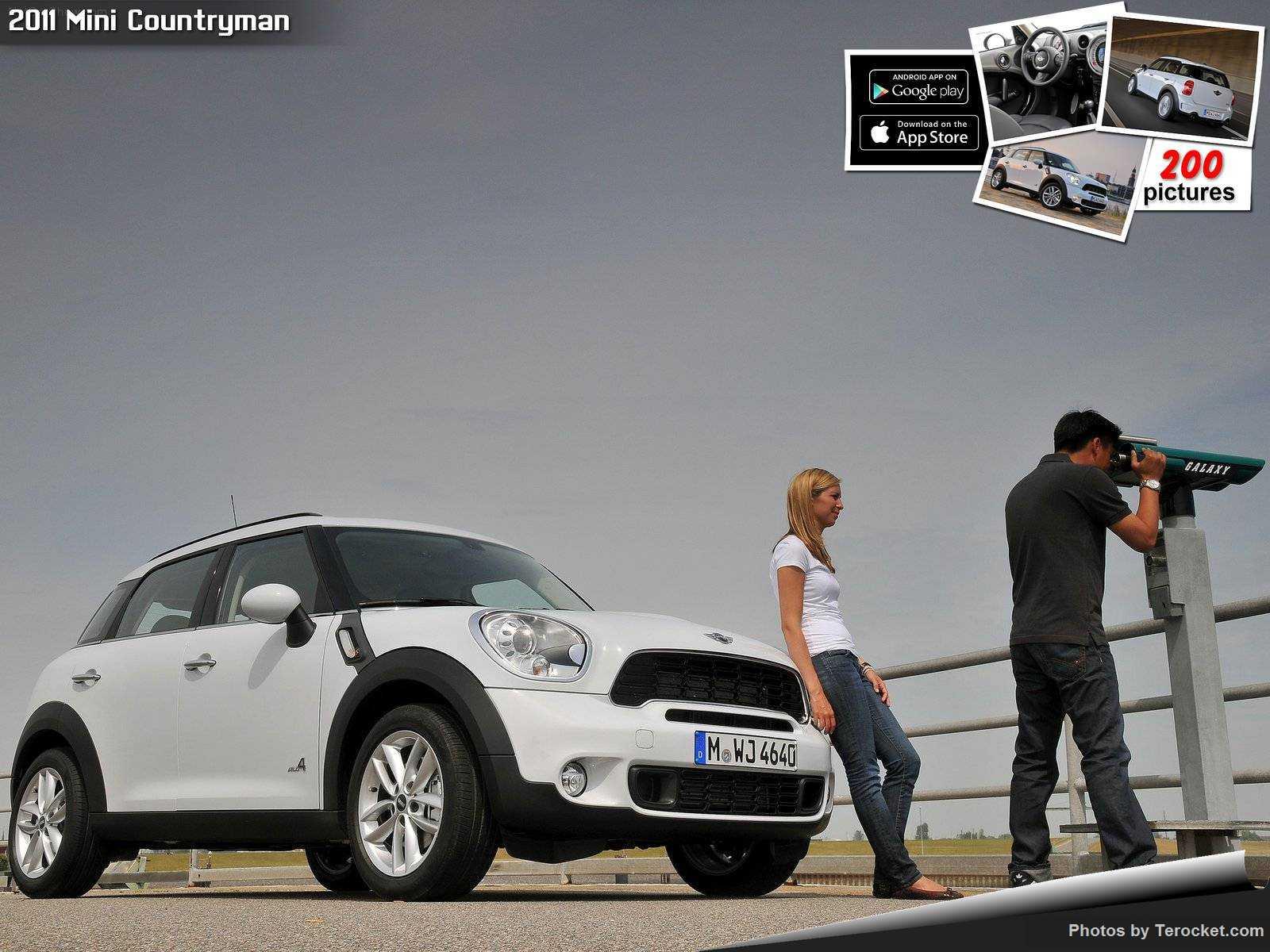 Hình ảnh xe ô tô Mini Countryman 2011 & nội ngoại thất