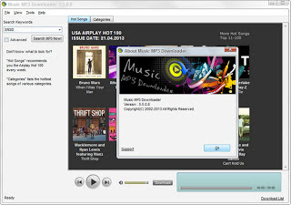 Screenshot Music downloadder