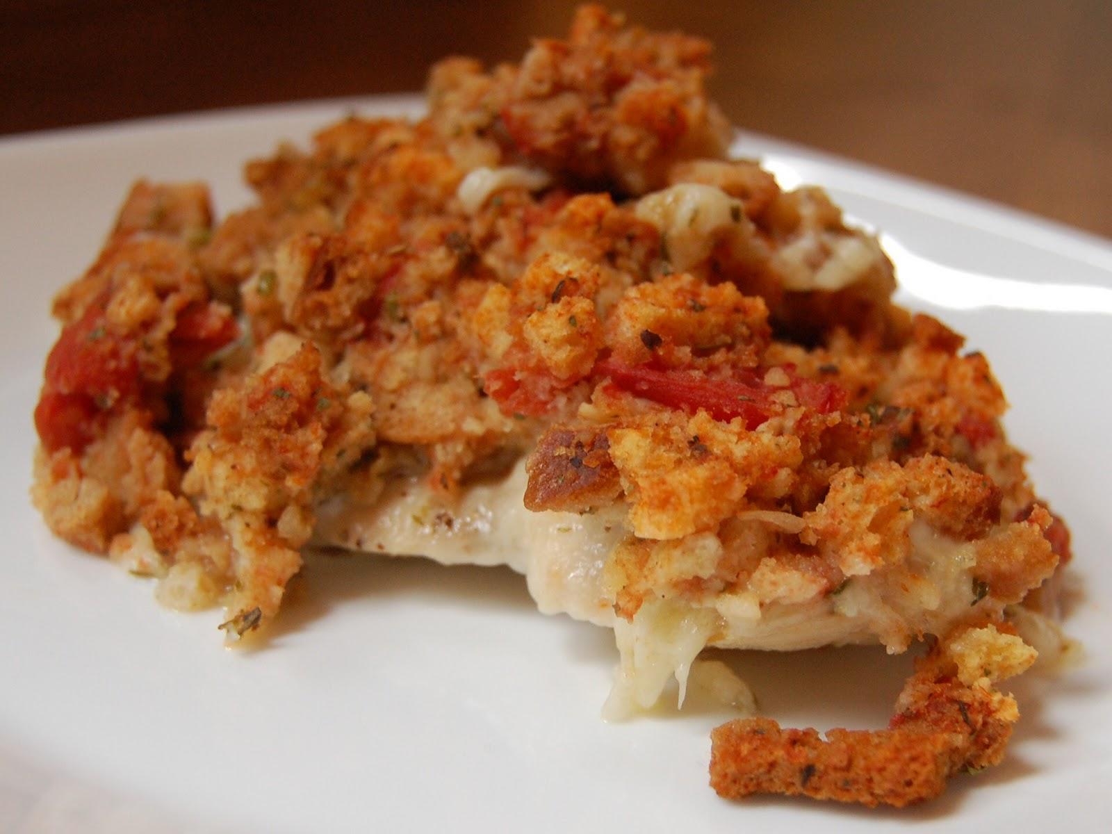 Cassie Craves: Bruschetta Chicken Bake