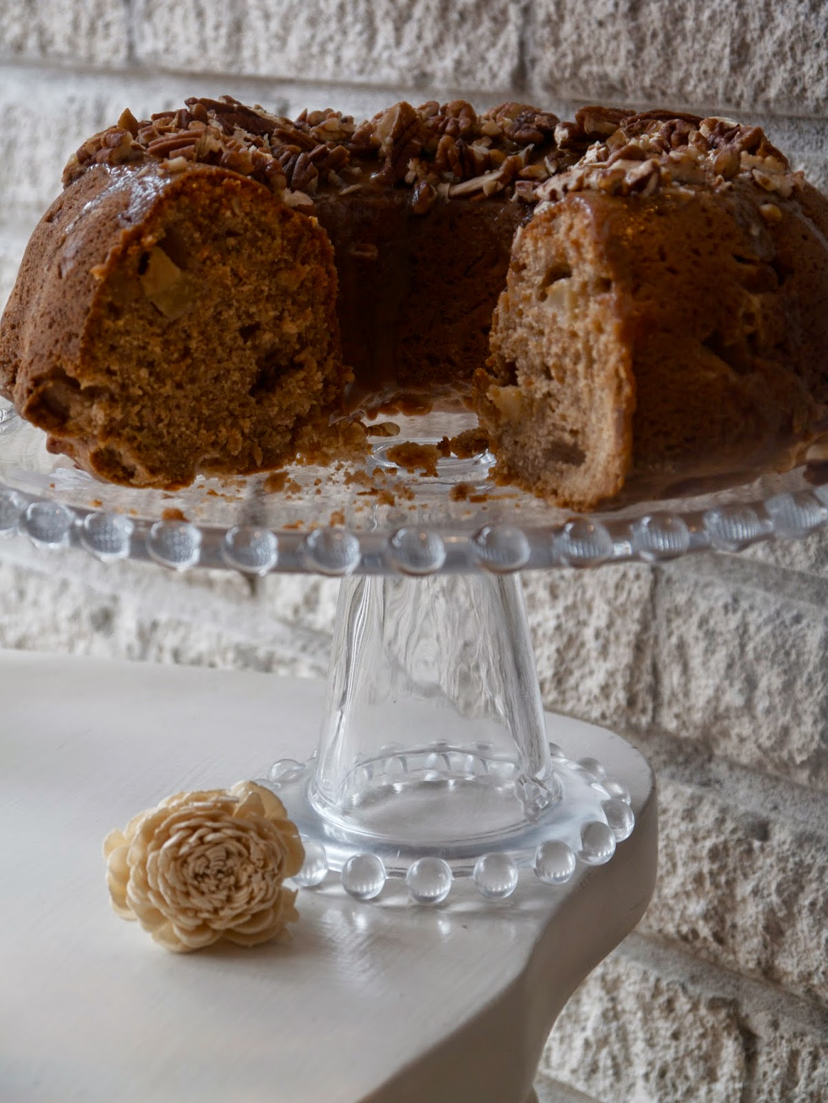 Pear pecan bundt cake recipe