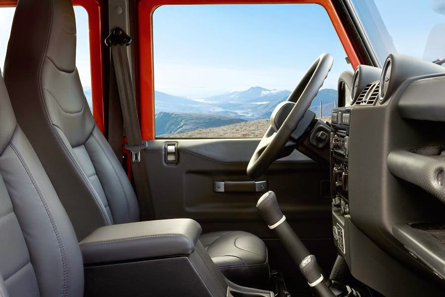 Land Rover Defender 110 Station Wagon Adventure Limited Edition (2015) Interior