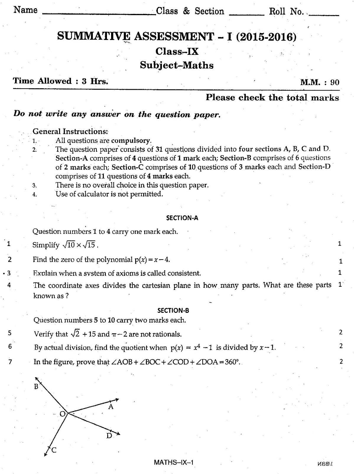 Cbse Class  Papers Term  PAGEB Cbse Class  Papers Term